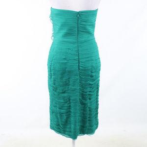 Tadashi Shoji Dresses - Tadashi green silk wiggle dress 6